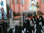 7  Fr. James Ferry, MM Blessed the remains of M. Ma. Assumpta David, RVM